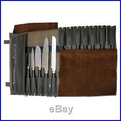 Chef Roll Knife Bag Adjustable Straps carry case kitchen Portable Storage KB007