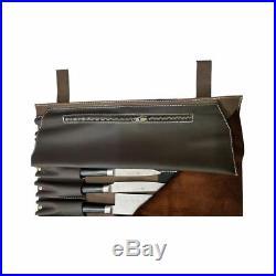 Chef Roll Knife Bag Adjustable Straps carry case kitchen Portable Storage KB008