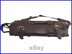 Chef Roll Knife Bag Adjustable Straps carry case kitchen Portable Storage KB010