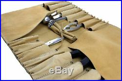Chef Roll Knife Bag with Handles carry case Kitchen Tools Portable Storage KB003