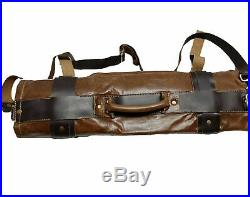 Chef Roll Knife Bags Adjustable Straps carry case kitchen Portable Storage KB005