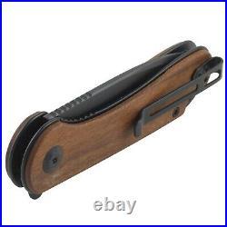 Civivi Elementum Cuibourtia Wood Handle Linerlock Pocket Knife D2 Tool Steel