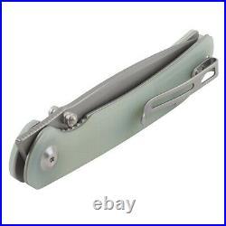 Civivi Jade G10 Handle Imperium Linerlock Pocket Knife Nitro V Steel