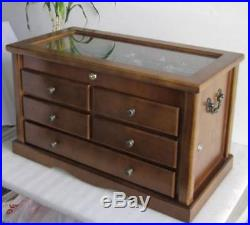 Collector's Choice Knife Display Case Cabinet, Tool Storage cabinet, Solid