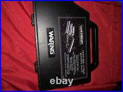 Cordless Lithium Electric Knife with 2 Blades and Storage Case Waring EK120