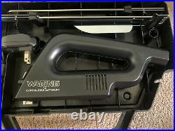 Cordless Lithium Electric Knife with 2 Blades and Storage Case Waring EK120 B3