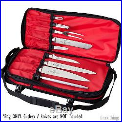 Culinary Knife Bag Case Chef Tool Organizer Blade Cutlery Holder Carry Storage