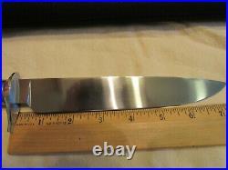 Custom Handmade Knife. David Landis. Stag Bowie. Unused. Excellent++