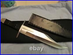 Custom Handmade Knife. O'Leary Large Coffin Bowie. Unused. Excellent