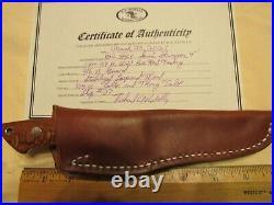 Custom Handmade Knife. Richard Rotella. Loveless Semi Skinner Model. Mint