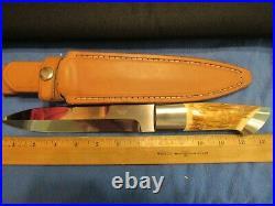 Custom Knife. Robert Papp Fossil Fighter. Huge Unused Excellent