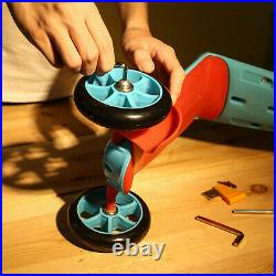 DEKOPRO 158 Piece Tool Set Handyman Tool Kit with Plastic Toolbox Storage Case