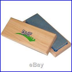 DMT Benchstone 6 X 2 Diamond withKnife Sharpener Coarse Grit & Wood Storage Case