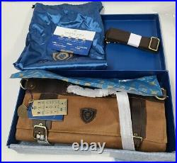 Dalstrong Nomad Knife Roll Canvas/Leather 13 slots Storage/ Case. #001