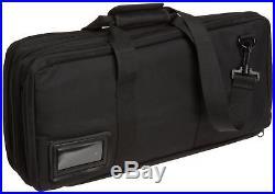 Deluxe Chef Knife Case, Black Pocket Storage Holder Blade W Handle Knives Carry