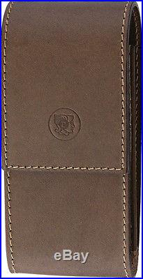 Dovo Leather Case For Shavette Knife 570 050 Brown leather storage case. For use