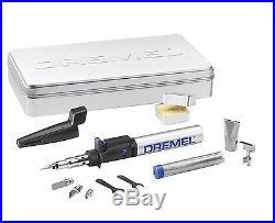 Dremel Versa Tip Butane Soldering Torch Iron Multi Tool Storage Case Knife Heat