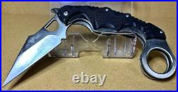 EMERSON Tactical Karambit Folding Knife with Storage Case 164g