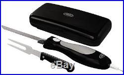 Electric Knife Blade Carving Fork Kitchen Cutlery Home Accessories Storage Case
