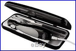 Electric Knife Carving Fork Storage Case Oster Removable Stainless Steel Cutting