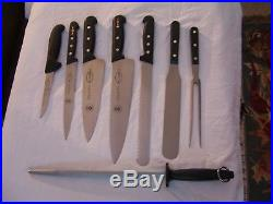F. Dick Johnson &Wales University14 Knife Set Storage/Carrying Case Complete, VGC