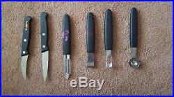 F. Dick Pre-Owned 13-Piece Knife Set storage hard case with arm strap