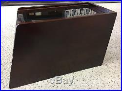 Fancy Rosewood Collector Knife Display Tool Storage Cabinet Case, Solid Rosewood