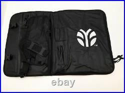 Flint & Flame multi-Slots Chef Knife Roll Bag Knife Bag Case Storage (R242)