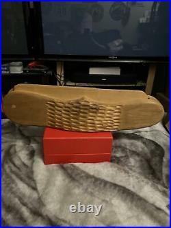 Folk Art Store Display Wooden Knife Case 21x 5 X4
