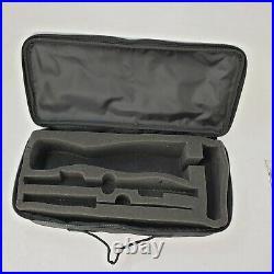 Food Network Electric Knife FNKNB1000 Carving Fork 2 Blades Foam Case Booklet