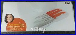 Furi Rachael Ray Gusto Grip Basics 3-Knife Set 4 in 5 in & 6 in With Storage Case