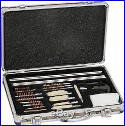 Game Raider 35 Piece Universal Gun Cleaning Kit with storage case with deep woods