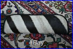 Genuine Zebra Hide Knife Knives Sheath Storage Zipper Case 14 Fits Randall