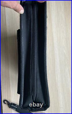Global Knife Set Carry Case Storage Holdall Bag Black Laptop Business Shoulder