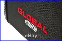 Global (Yoshikin) Chef's Hard Knife Storage Case with 11 Pockets G-667/11 NEW