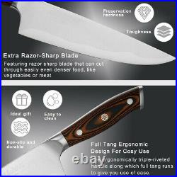 Grilljoy Professional Chef Knife with Deluxe Handle in Storage Case