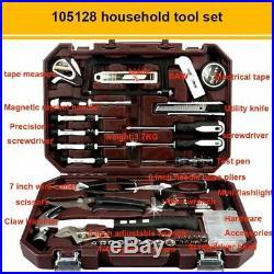 Hand Tool Set General Household car Repair Tool Kit Toolbox Storage Case Socket
