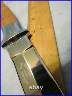 Handmade Knife. Mark Jordan Fighter. Unused. Excellent