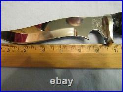 Handmade Knife. North & Prater Fantasy Recurve Fighter Unused. Excellent. 1989