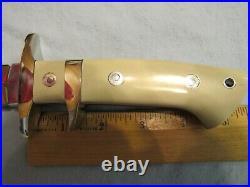 Handmade Knife. Steve Voorhis Sub Hilt Fighter. Excellent