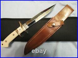 Handmade Knife. Steve Voorhis Sub Hilt Fighter. Mint