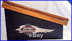 Harley Davidson Knife Counter Sales Display Locking Case and Storage with Keys