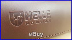 Helle Knives Genuine Leather Knife Storage Roll Bag Case For 6 Knives
