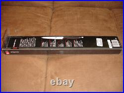 Henckels Slicing Knife and Fork set with wooden storage Case