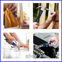 Household Maintenance 120 Piece Home Repair Mechanics Hand Tool Kit Storage Case
