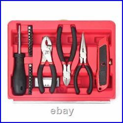 Hyper Tough 86 Piece All Purpose Tool Set With Tool Storage Case Workshop Garage