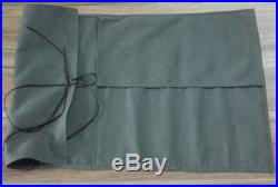 Japanese Chef Knife Roll Bag Canvas Knife Storage Case Carry Chef Wallet 6 Pocke