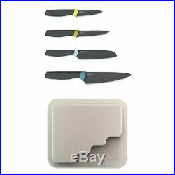 Joseph Joseph Door Store 4-piece Elevate Knife Set Storage Case Space Saving