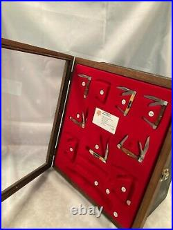 Keen Kutter by Bear & Sons Store Display Case Storage with 6 Knives