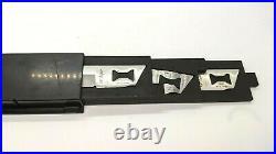 Kershaw KAI Blade Trader Set 3 Knife Blades Hard Plastic Storage Case withDrawers